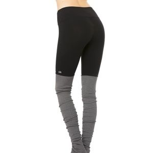 ALO GODDESS LEGGING BLACK GREY S